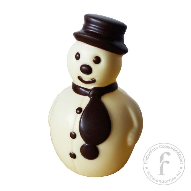 Ágasvár Bonbon Fehércsokoládé hóember 50g