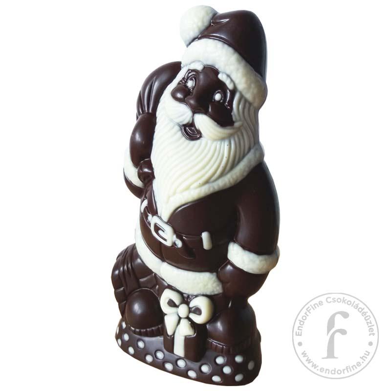 Ágasvár Bonbon Fehércsokoládéval festett étcsokoládé Mikulás 90g
