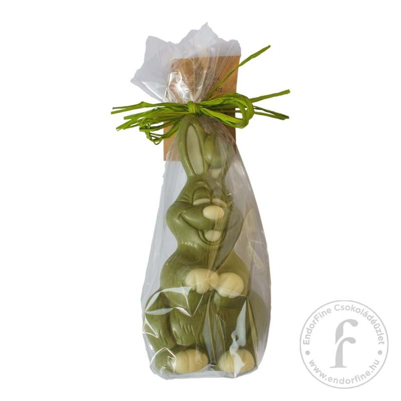 Ágasvár Bonbon Matchás ízesítésű fehércsokoládé nyuszi 20g