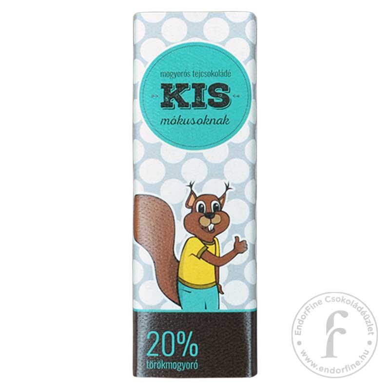 Ágasvár Bonbon Mogyorós 44%-os tejcsokoládé egész törökmogyoróval 100g