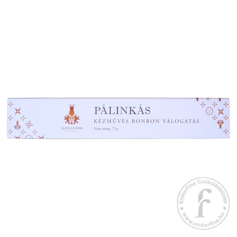 Alexander Pálinkaház Pálinkás kézműves bonbon válogatás 75g