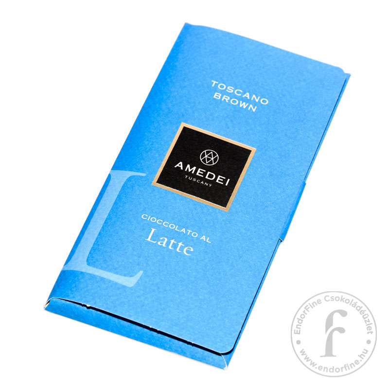 "Amedei ""Toscano Brown"" 32%-os tejcsokoládé 50g"