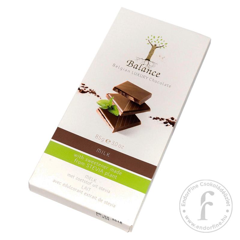 Balance 38%-os tejcsokoládé 85g - cukormentes