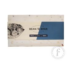 """ChocoCard """"Bean to Bear"""" 100%-os étcsokoládé (Nicaragua) 80g"""
