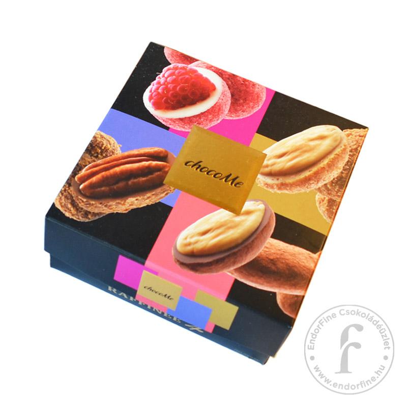 ChocoMe Raffinée 4 Fehér-, szőke- és tejcsokoládés drazsé válogatás (4x40g) 160g