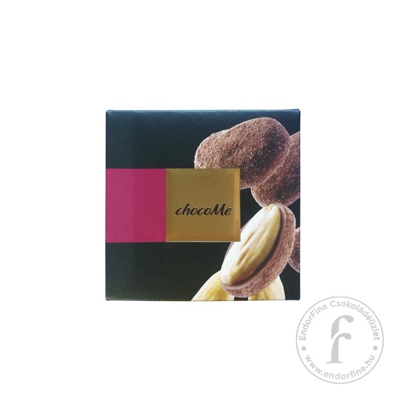 """ChocoMe """"Raffinée"""" Szicíliai mandula kardamomos-kávés 60%-os étcsokoládéban 120g"""