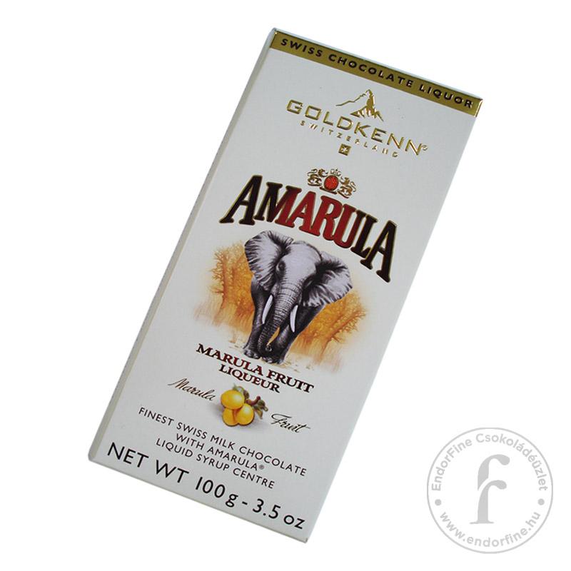 Goldkenn Amarula likőrrel töltött 37%-os tejcsokoládé 100g