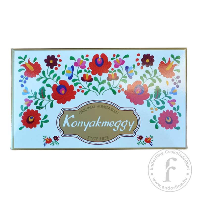 Lellei Konyakmeggy Konyakmeggy 60%-os étcsokoládéban 163g