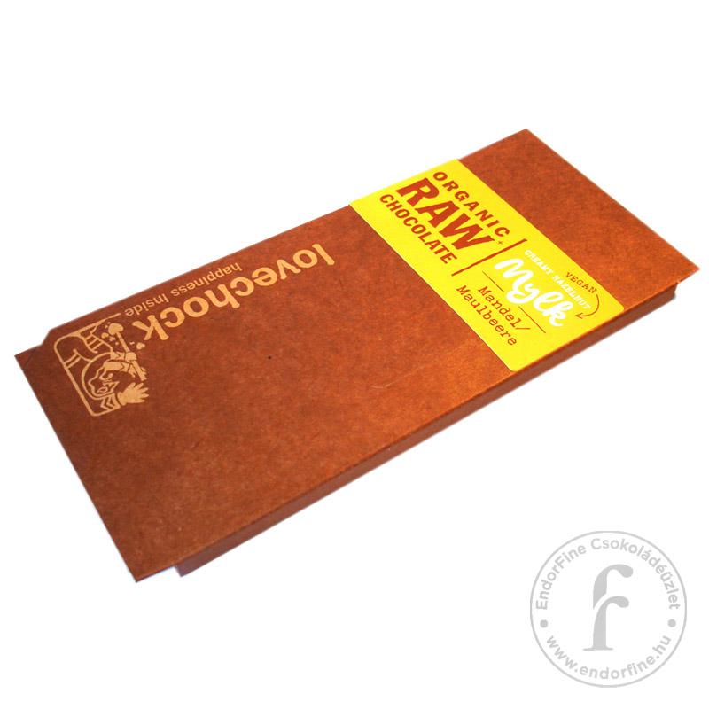 Lovechock Epres-mandulás pörköletlen (RAW) 70%-os étcsokoládé 70g