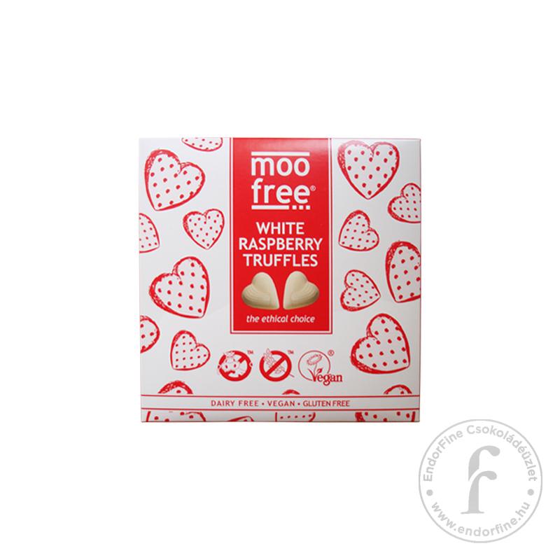 Moo Free Málnás fehércsokoládé praliné rizstejjel 108g