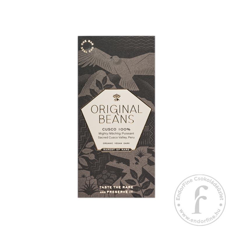 """Original Beans """"Cusco"""" 100%-os étcsokoládé 70g"""