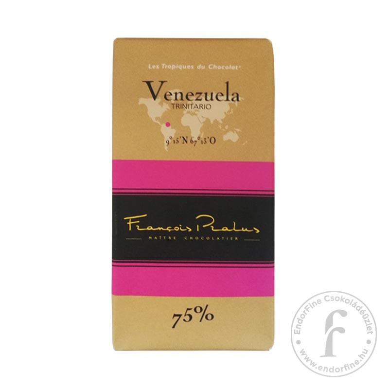 Pralus 75%-os étcsokoládé (Venezuela) 100g