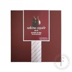 La Higuera Rabitos Royale 52%-os étcsokoládéval bevont, trüffelkrémmel töltött egész fügék 1000g