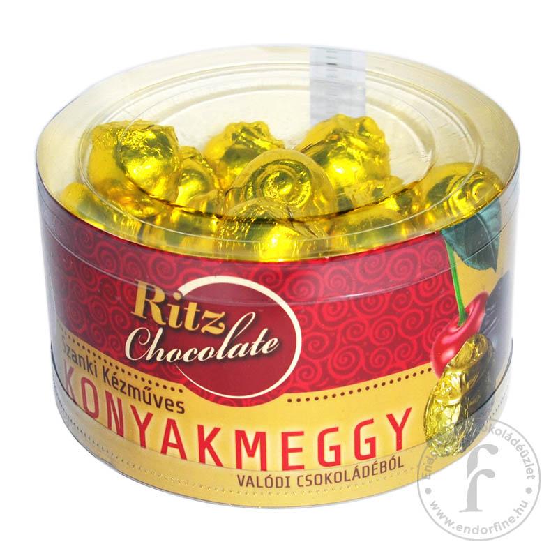 Ritz Chocolate Kézműves konyakmeggy étcsokoládéban 1000g