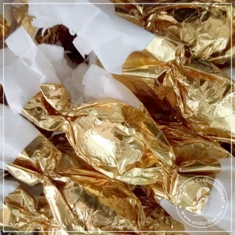 Mandulamarcipán szaloncukor 60%-os étcsokoládéban 250g
