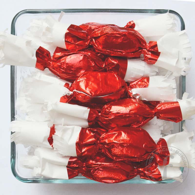 Zselés szaloncukor étcsokoládéban 250g