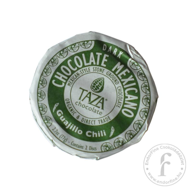 Taza Guajillo chilis 50%-os étcsokoládé 77g